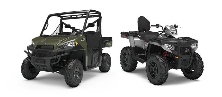 ATV and Side by Side Rentals